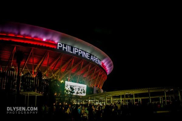 Philippine Arena at Night