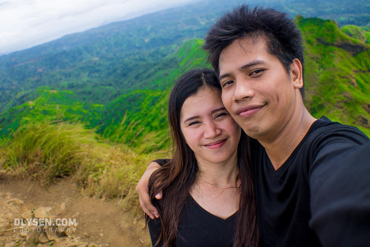 Grace Baque at Mt Batulao