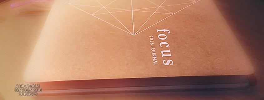 Focus Journal 2016 by ilovebdj