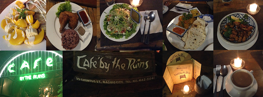 cafe by the ruins Baguio City Top Restaurant