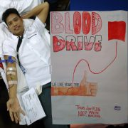 blood drive New Era University 2016 07 14