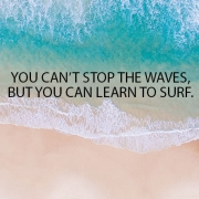 you can not stop the wave